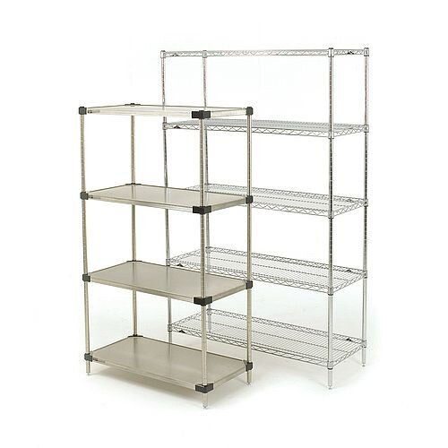Super Erecta Wire &Solid Stainless Steel Storage &Display Shelving