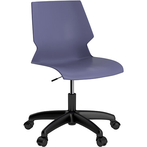 Titan Uni Swivel Chair 400-460mm Seat Height Blue