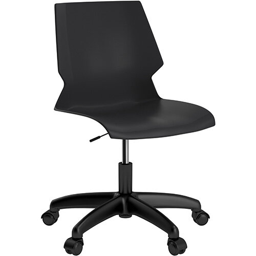 Titan Uni Swivel Chair 400-460mm Seat Height Black