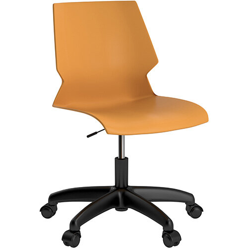 Titan Uni Swivel Chair 400-460mm Seat Height Yellow