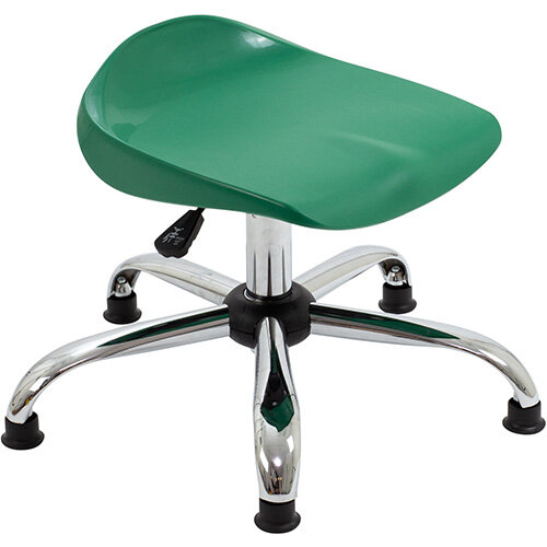Titan Swivel Junior Classroom Stool with Glides 405-475mm Seat Height (Ages: 6-11 Years) Green T32-GNG - 5 Year Guarantee