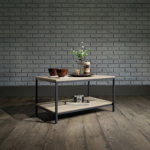 Industrial Style Coffee Table W800xD508xH420mm Charter Oak Effect