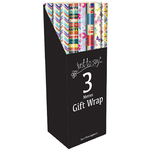 Tallon Assorted Gift Wrap Pack of 36 1470/72