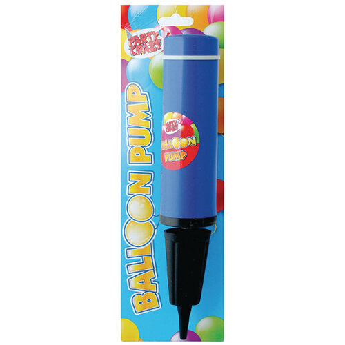 Balloon Pump Pink and Blue Pack of 12 5709