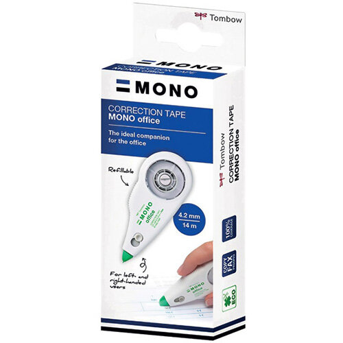 Tombow MONO Office Correction Tape Refillable 4.2mm x 14m CT-CXE4