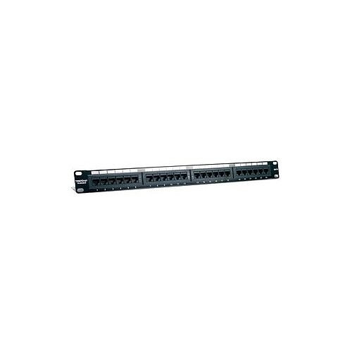 "TRENDnet TC-P24C6 24 Port s Network Patch Panel 24 x RJ-45 24 x RJ-11 19"" Wide"