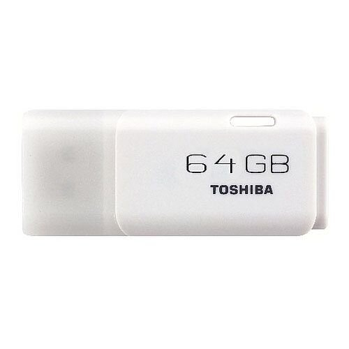 Toshiba TransMemory U202 USB Stick Flash Drive 64GB White THN-U202W0640E4