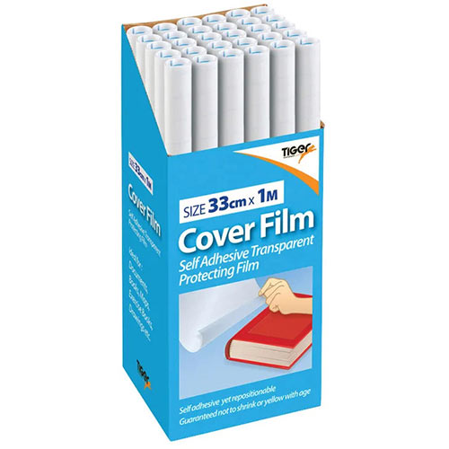 Book Covering Film 330mm x 1m Pack of 30 300003