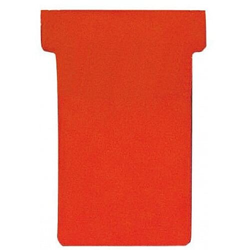 Franken T-Card Size 1 Red Pack of 100 TK101