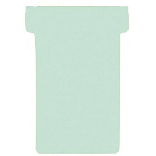 Franken T-Card Size 2 Light Green Pack of 100 TK219