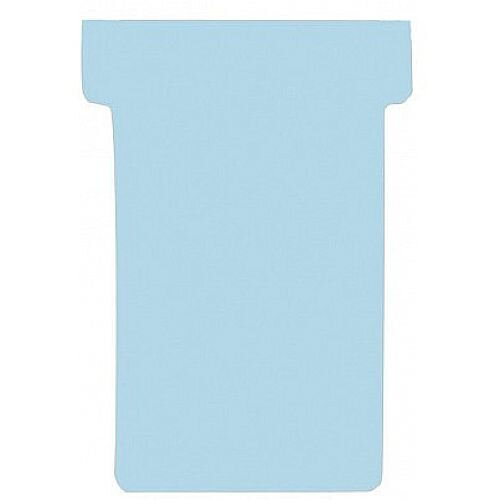 Franken T-Card Size 3 Light Blue Pack of 100 TK318
