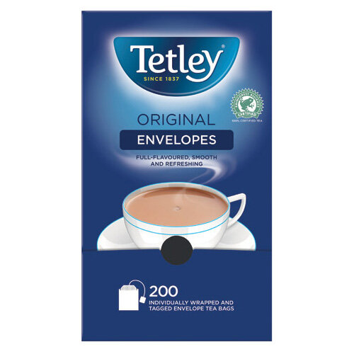 Tetley Envelope Teabags Pack of 200 A08097