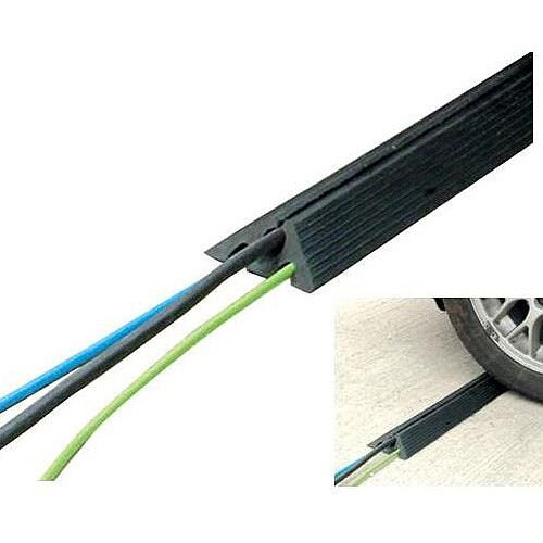Heavy Duty Rubber Extrusion Cable Protector
