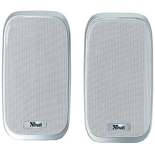 Trust portable stylish 12 Watt 2.0 speaker set 6 Watt RMS Pack 19912