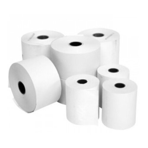 Thermal Paper Roll White 57 x 70 x 12.7mm 50 Roll Box