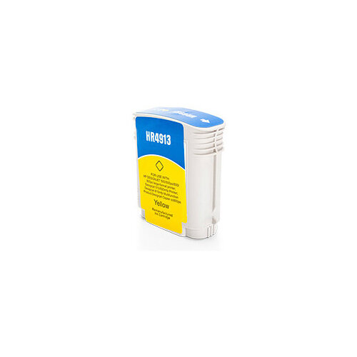 Compatible HP 82 C4913A Yellow Ink Cartridge