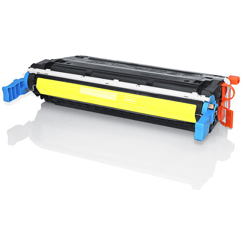 Compatible HP C9722A 641A Yellow 8000 Page Yield Laser Toner Cartridge