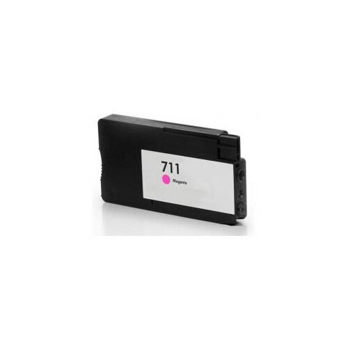 Compatible HP CZ131A 711 Magenta Hi Cap 30ml Page Yield Ink Cartridge
