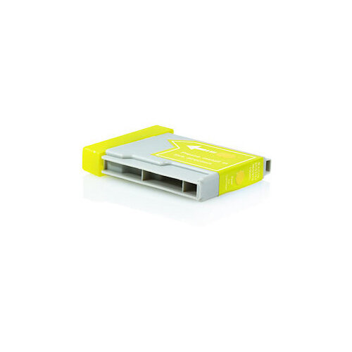 Compatible Brother LC1000 / LC970 Yellow 18ml 400 Pages Ink Cartridge