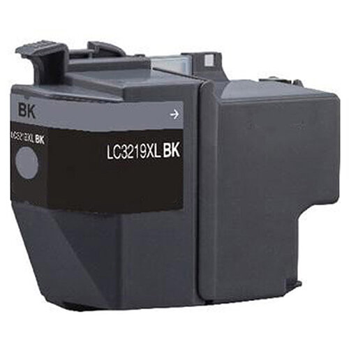 Compatible Brother LC3219XLBK Black 3000 Page Yield Ink Cartridge