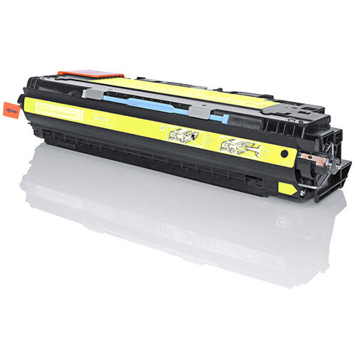 Compatible HP Q2672A Yellow 4000 Page Yield Laser Toner Cartridge