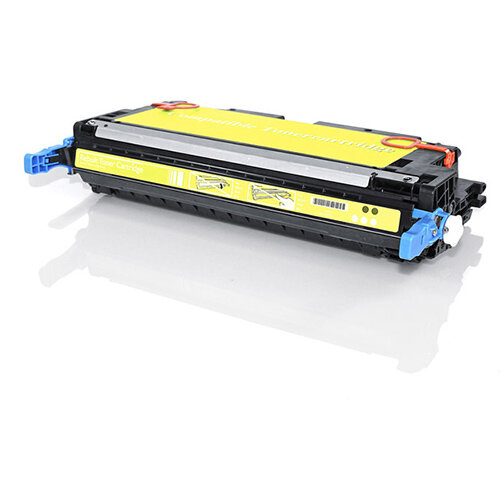 Compatible HP Q6472A 502A / Canon 717 Yellow 4000 Page Yield Laser Toner Cartridge