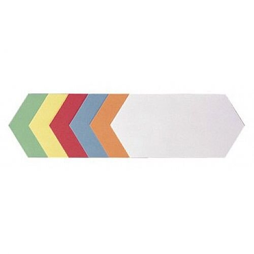 Franken Training Cards Rhombus 200x95mm Assorted Colours Pack of 250 UMZH 920 99