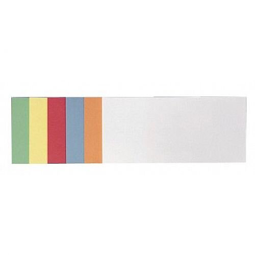 Franken Training Cards Rectangular 205x95mm Assorted Colours Pack of 300 UMZS 1020 99