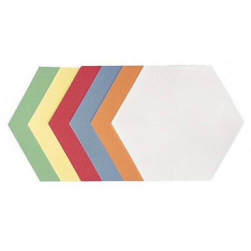 Franken Training Cards Honeycomb 190x165mm Assorted Colours Pack of 500 UMZ 1719 99