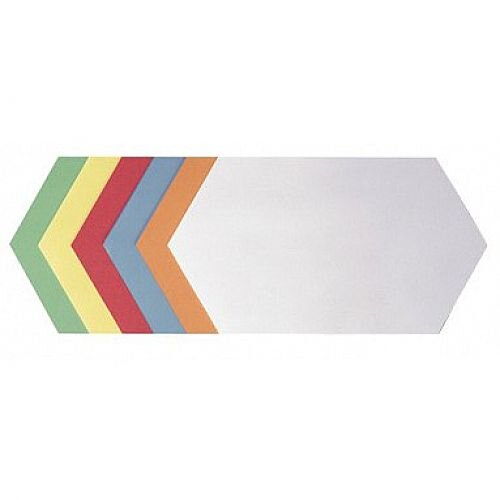 Franken Training Cards Honeycomb 297x165mm Assorted Colours Pack of 500 UMZ 1730 99