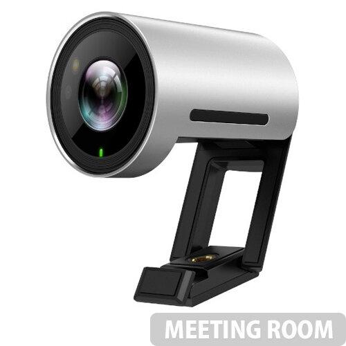 Yealink UVC30ROOM Webcam - USB 2.0 Camera - Depth of View: 1m to 5m - 60fps, 4K, 8.51 Megapixel - Infrared, Microphone, Diagonal View Field - Windows and Mac Compatible