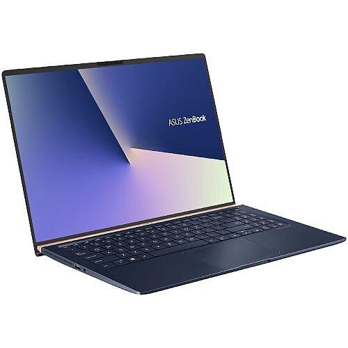 Asus ZenBook Laptop - Display 15.6-inch - CPU Intel Core i7-8565 - Graphic Card GTX 1050 (2GB VR) - 8GB RAM Memory - 256 SSD Storage - Windows 10