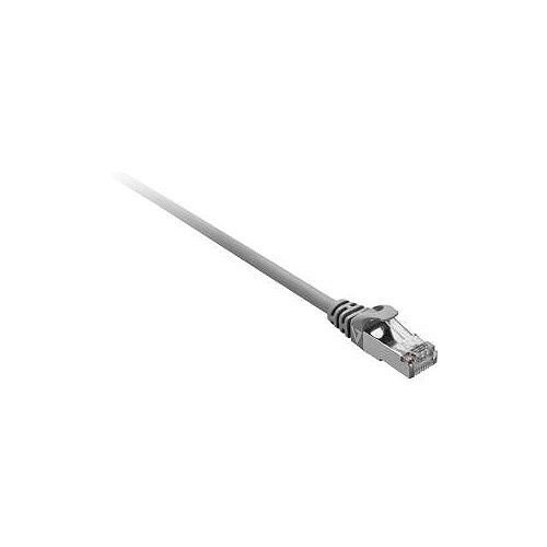 V7 Category 7 Network Cable for Network Device 1 m Shielding 1 x RJ-45 Male Network 1 x RJ-45 Male Network Patch Cable Grey V7CAT7FSTP-1M-GRY-1E