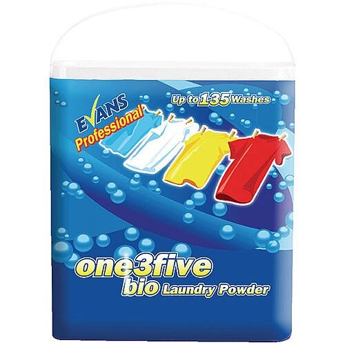 Evans One 3Five Biological Laundry Washing Powder 10kg 135 Washes C050AEV