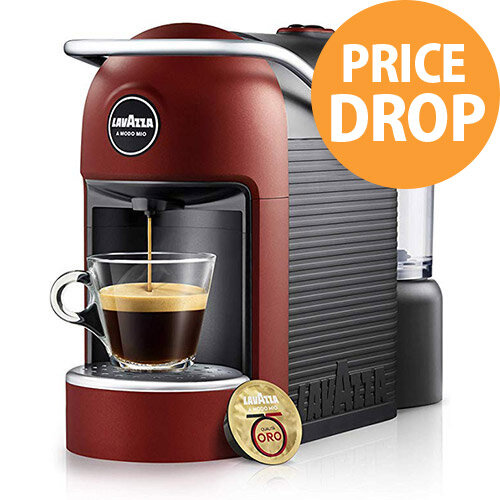 Lavazza A Modo Mio Jolie Plus Coffee Machine Red