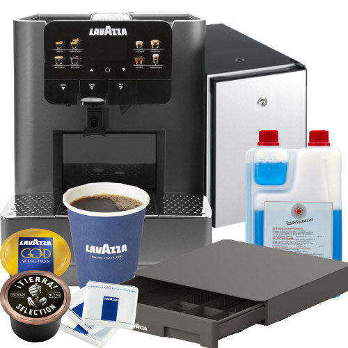 Lavazza Blue LB 2317 One Touch Coffee Machine Bundle Deal Starter Pack