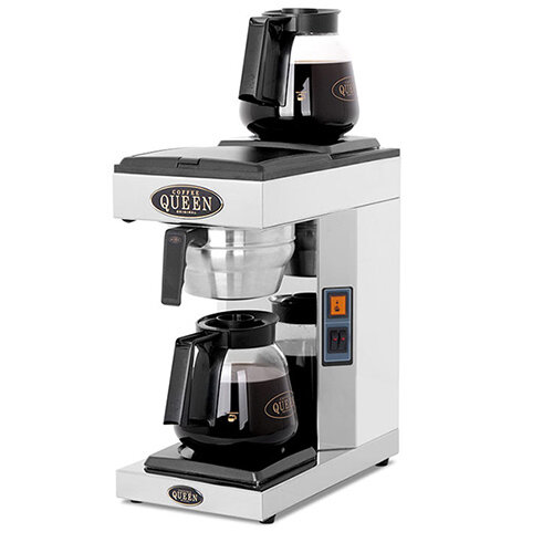 Coffee Queen Coffee Brewer With Twin HotPlate M2