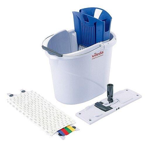 Vileda Ultra-Speed Mini Starter Kit 10 Litre Blue 129672
