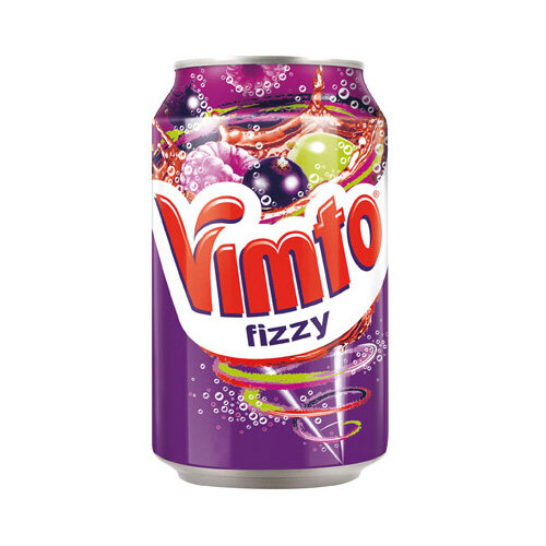 Vimto 300ml Can Carbonated Fruit Juice Drink Pack of 24 2000