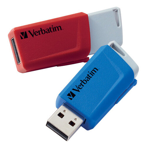 Verbatim Store and Click USB 3.2 32GB Pack of 2 49308