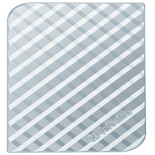 Verbatim Store 'N' Go 500GB Portable Hard Drive Silver 53196