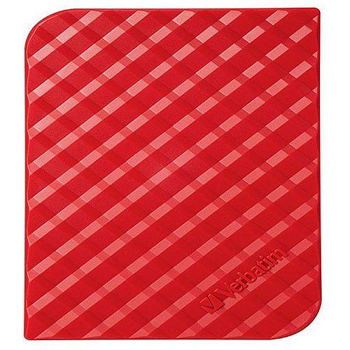 Verbatim Store 'N' Go 1TB Portable Hard Drive Red 53203