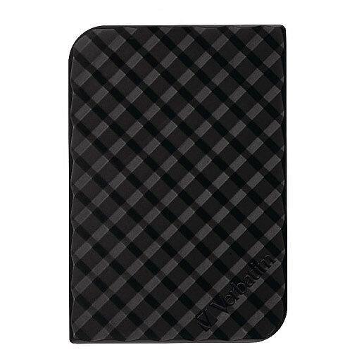 Vertabim StorenGo Portable External Hard Drive GEN 2 USB 3.0 2.5in 5TB Black 53227