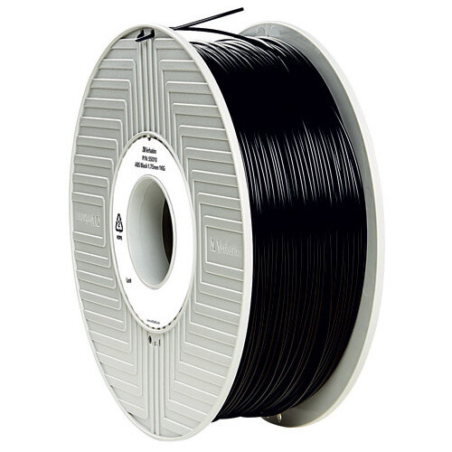 Verbatim 3D Printer Filament ABS 1.75mm 1kg Black 55026