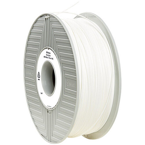 Verbatim 3D Printer Filament ABS 1.75mm 1kg White 55027