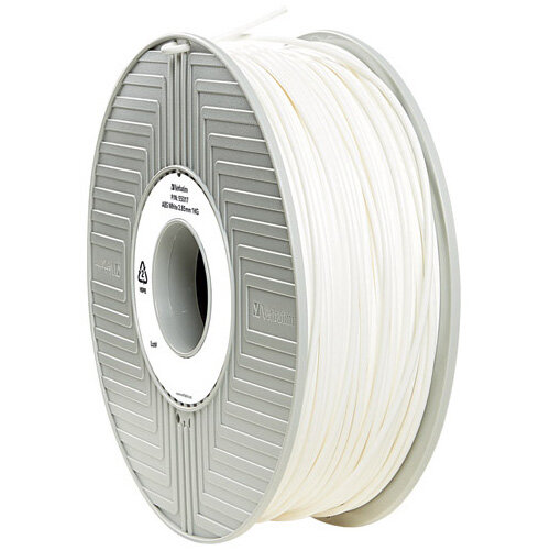 Verbatim 3D Printer Filament ABS 2.85mm 1kg White 55034