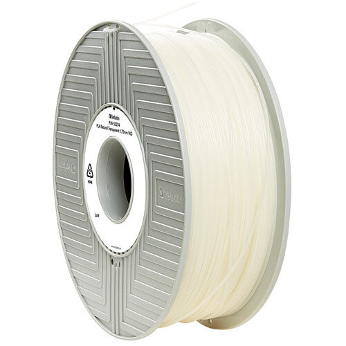 Verbatim 3D Printer Filament PLA 1.75mm 1kg Clear 55317