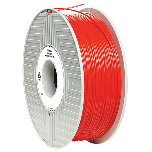 Verbatim 3D Printer Filament PLA 1.75mm 1kg Red 55320