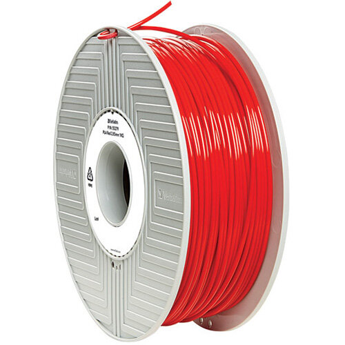 Verbatim 3D Printer Filament PLA 2.85mm 1kg Red 55330