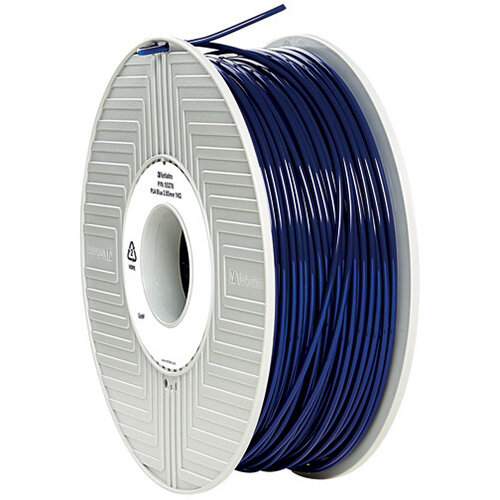 Verbatim 3D Printer Filament PLA 2.85mm 1kg Blue 55332